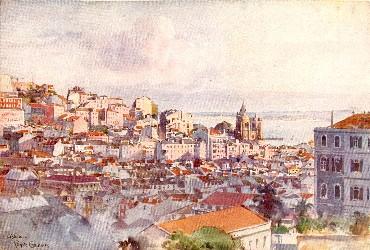 Velha Lisboa (Roque Gameiro)